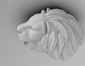 3D print model LION FACE face