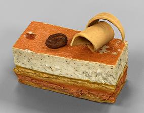 3D asset Mocca Cake