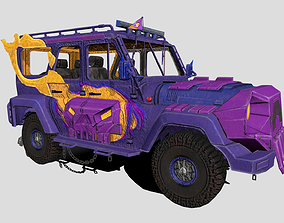 Pubg Mobile UAZ 3D asset
