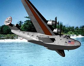 Transatlantic Clipper Poser Vue 3D