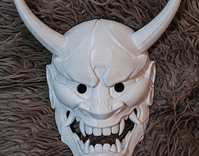 3D print model Oni Mask art