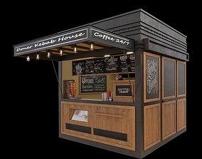 Doner Kebab House 3D model