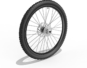 3D Bicycle Back Wheel 27-5 inch tire