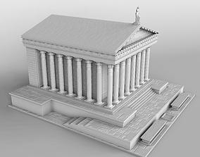 3D printable model ancient Ancient Greek Temple