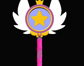 3D model The Wand Star butterfly vs the forces of evil