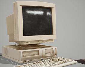 90s Pc Desktop style 01 3D model