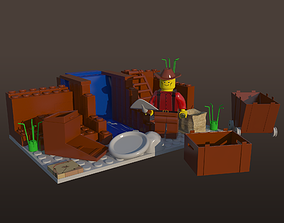 3D model LEGO Alaska Gold Rush