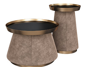 Daytona KEVIN SET OF 2 SIDE TABLES 3d model game-ready