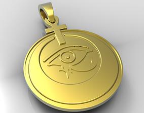 eye of Horus Ankh 3D printable model