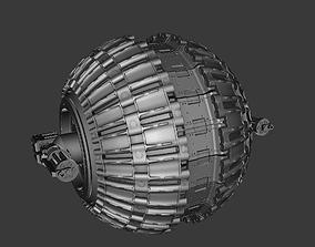 Sci-Fi model of panzer gear