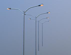 Low poly Streetlight Model VR / AR ready