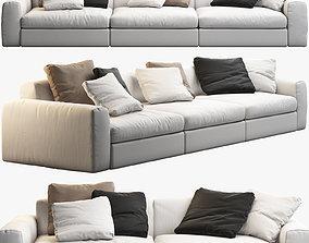Poliform Dune sofas 3D
