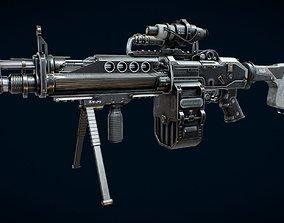 Machine Gun 3D asset