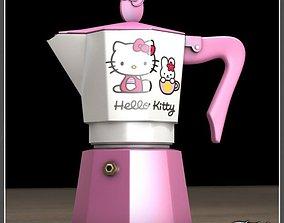 Hello Kitty moka 2 3D model