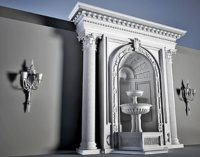 element Arhitectural Interior workspace 3D