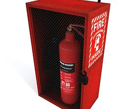 3D asset Extinguisher Case