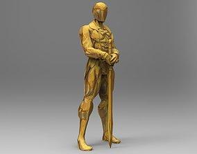 Oscars statue 3D printable model