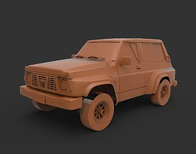nissan patrol 1995 3D printable model