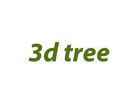 3d tree1 shrub