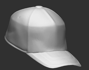 3D model low-poly baseball CAP