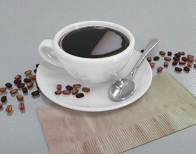 3D model Coffee Cup 3 Coffee Textures