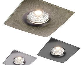01003x Levigo Lightstar met Spotlight recessed 3D