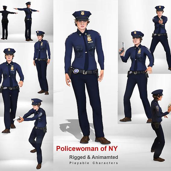 Policewoman of NY