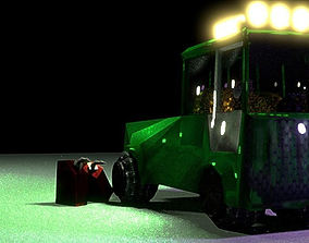 3D model Low Poly Truck