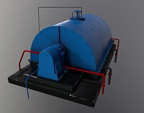gas Compressor Part 3 3D model