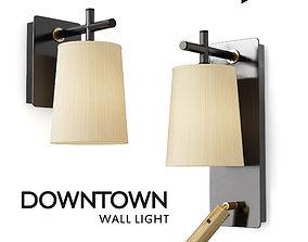 DOWNTOWN Wall Light 3D asset