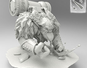 3D model Earthshaker Dota 2