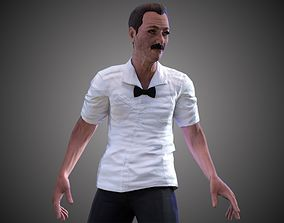 Boxing Referee 3D asset