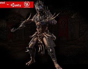 3D asset Ork Berserker