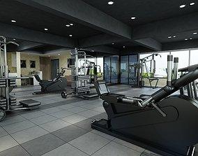 Gym fitness design2 3D