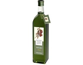3D Bottle Of Olive Oil