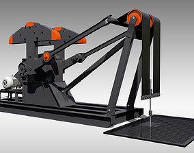 3D Low Profile Pumpjack
