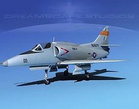 Douglas A-4G Skyhawk V01 USN 3D model