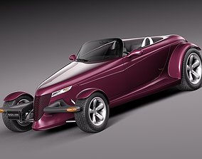 3D model Plymouth Prowler Concept 1993