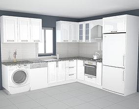 3D printable model kitchen design