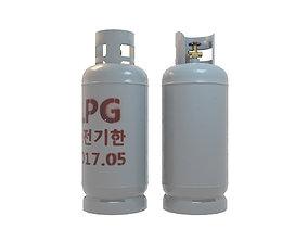 3D asset LPG Gas Tank