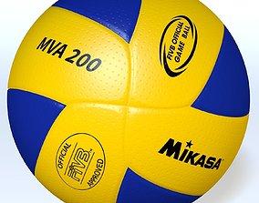 3D model MikasaMVA200 Official FIVB ball