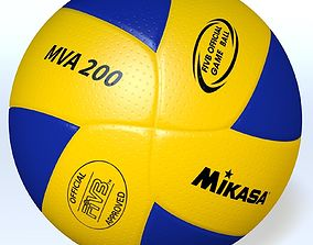 3D model MikasaMVA200 Official FIVB ball