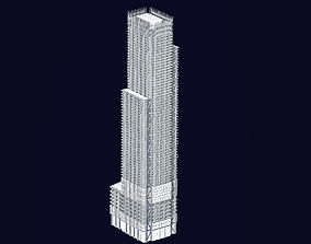 3 World Trade Center at 175 Greenwich Street 3D asset