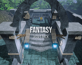 Fantasy - Asset Pack - Unity LWRP low-poly