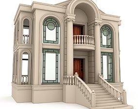 3D model Classical Building 03