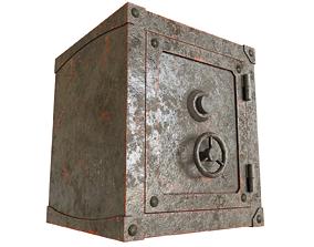 3D money Old safe