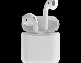 headphones Apple AirPods 3D