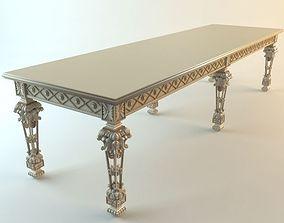 Baroque Console Table 3 3D model