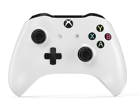 Xbox One S Controller - Element 3D animated