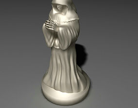3D print model Monk Sculpture